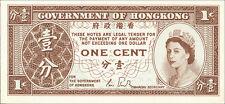 Hong Kong / Hongkong Gouvernment 1 Cent (1961-1995) Pick 325 UNC