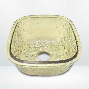 JSG Oceana 009-009-200 Undermount Drop-In Kitchen Sink Sea Green Hard Roc Glass