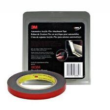 3M 06384 Automotive Car Molding Emblem Acrylic Plus Black Attachment Tape