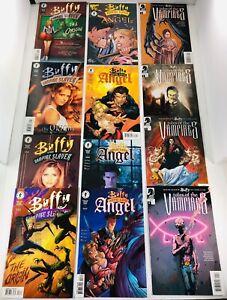 22 BUFFY MINIS TALES OF THE VAMPIRES #1-5/ ORIGIN/ ANGEL/ WILLOW/ TARA SETS SGND