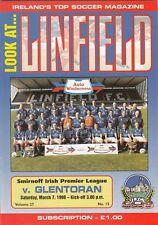 Linfield v Glentoran 1997/8 Irish League