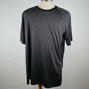 The Foundry Supply Co. Men's Black Short Sleeve Athletic T-Shirt Size XL Tall