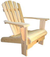 Fauteuil ADIRONDACK - Cèdre massif Canada - NEUF -