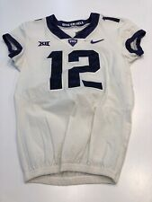 Game Worn Used Nike TCU Horned Frogs Football Jersey Size 38 #12