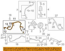GM OEM-Power Steering Pressure Hose 22912855