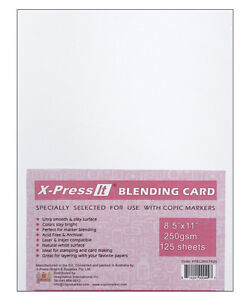 Copic Marker X-Press It Blending Card 125/Sh