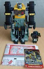 Transformers Energon Treadbolt y arco más instrucciones y tarjeta de estadísticas