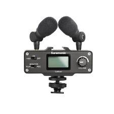Saramonic  Camixer On-Camera Audio Adapter & Mixer w/ Dual Mics & XLR For DSLR