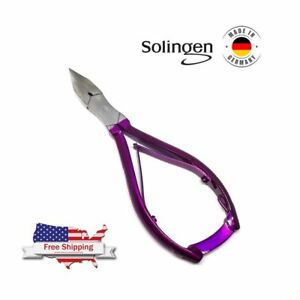 Hetzer Solingen Toe Nail Nipper Thick Nail Clipper Heavy Cutter With Lock 5.5""