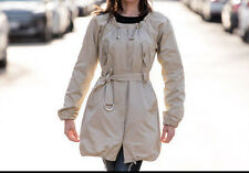 Winter Sale! New Theory Trench Coat String Collar XS Super Cute Piece