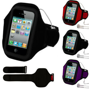 For iPhone 12 mini / 13 mini Neoprene Running Sport Armband Case With Key Slot