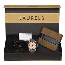 Laurels Watch, Wallet & Belt Combo - (Rds-205-Trn-0201)