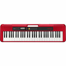 Casio CT-S200 Casiotone 61-Key Portable Digital Piano  w/ Micro USB -  Red