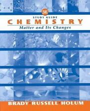 Chemistry: The Study of Matter and Its Changes, Study Guide, 3rd Edition