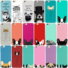 Cute Boston Terrier Pattern Phone Cover Case for Apple IPhone 6 6S 7 8 PLUS 5 5S