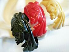 New African heritage design bangles durable plastic fit all hands