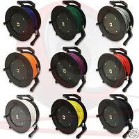 Van Damme Single XLR Cable on Schill GT Drum, Flexible Cable, Neutrik XLRs