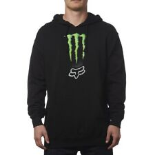 FOX RACING MONSTER ENERGY ZEBRA PULLOVER HOODY FLEECE BLACK TRX450 YFZ450 LTR450