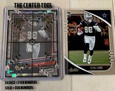 CeeDee Lamb Rookie Cards. The Rookies Refractor / Absolute RC. Cowboys