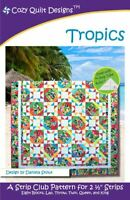 Tropics Quilt Pattern by Cozy Quilt Designs