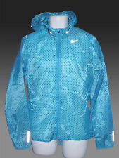 NIKE CYCLONE VAPOR Men's Running Cycling Rain Jacket ultra-lightweight Blue XL