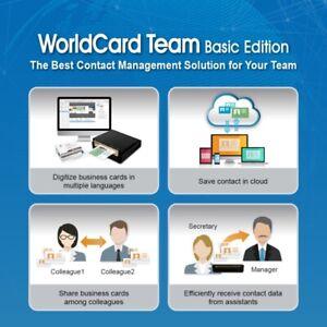 PenPower WorldCard Team Basic Edition , Business Card Management