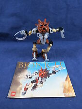 Lego Bionicle Pohatu Nuva 8568 Complete Instructions As Is Please Read B26 1.12
