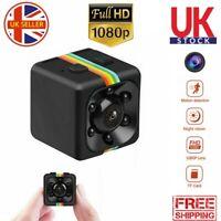 Mini Hidden DVR Spy Camera HD 1080P Night vision IP Home Security Wireless