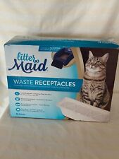LitterMaid Waste Receptacles, Disposable/Sealable Receptacles 18-count  4