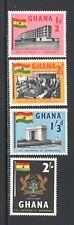 Ghana 1958 AMBASSADOR HOTEL, COAT OF ARMS, NTL. MONUMENT MNH Sc 17-20 SG 185-88