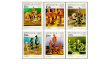 GUI9701Z Chess 6 pieces MNH GUINEE 1997