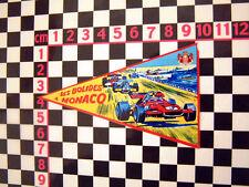 1960's Mónaco CRISTAL ADHESIVO FRANCES Carreras Circuito Pegatina CITROEN 2cv