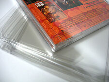 10 Clear Single Disc Jewel CD Case Game Box Protectors Music Albums Soundtracks
