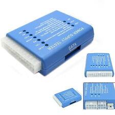 PC 20/24 Pin PSU ATX SATA HD Power Supply Tester UK seller
