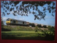 POSTCARD A MAGNIFICANT CLASS 60 LOCO HEADS A SOUTH BOUND AGGREGATE TRAIN ON THE