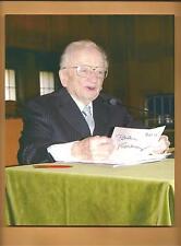 Benjamin Ferencz Nuremberg Trials Prosecutor Autographed 8x10 Picture Nurnberg