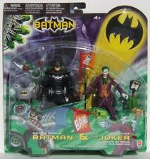 DC Mattel Battle Armor Batman & The Joker Quick Fire Action Figures MOC