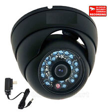 "Dome Security Camera Outdoor Day Night CCTV Surveillance 1/3"" CCD Wide Angle 3z0"