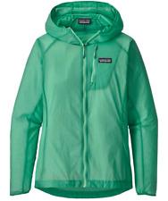 Women's Patagonia Houdini Hooded Jacket Vjosa Green XS