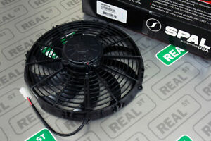 Spal 12 in High Performance Puller Radiator Cooling Fan Curved Blade 30102029