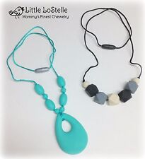 Teething Necklace Nursing Breastfeeding Baby Teether Shower Gift *Fast Shipping*
