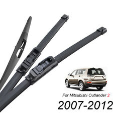 "Apto para MAZDA 3 CX-7 Mitsubishi Outlander 14/"" Trasero CAR limpiaparabrisas Hoja"