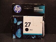 HP BLACK INK CARTRIDGE 27 PRODUCT C8727 AN OPTION 140