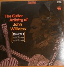 BACH GUITAR SUITES # 1 & # 3; JOHN WILLIAMS; SEALED EVEREST STEREO
