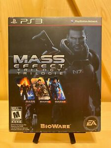Mass Effect Trilogy With Insets and Sleeve (Sony PlayStation 3, 2012)