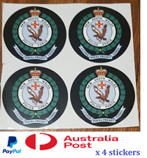 4 x New South Wales Police Sticker Decal Badge logo Sydney Flag Badge NSW