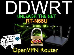 Asus RT-N66U Dark Knight OpenVPN DDWRT Router Nord, Express, Vanish, free setup