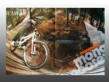 "2009 Steve Romaniuk, Mongoose Mtb Bikes, Collectible Poster 36"" x 24"""