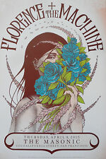 Beautiful Florence + The Machine Poster