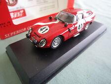 DV5222 BEST MODEL ALFA ROMEO TZ1 LE MANS 1964 #41 Ref 9097 1/43 TBE BOX